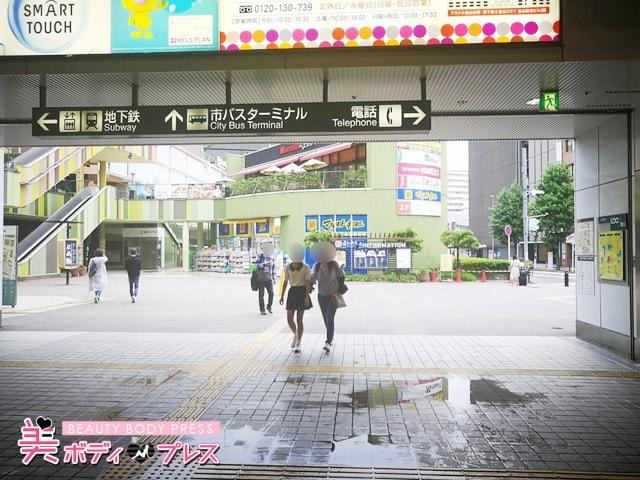 ミュゼ金山店までの行き方3