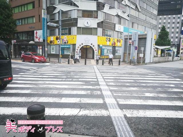 ミュゼ金山店までの行き方5