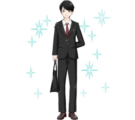 スーツは清潔感が大事