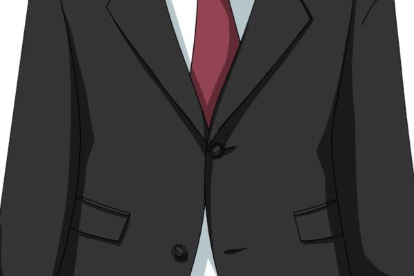 スーツのボタンの止め方