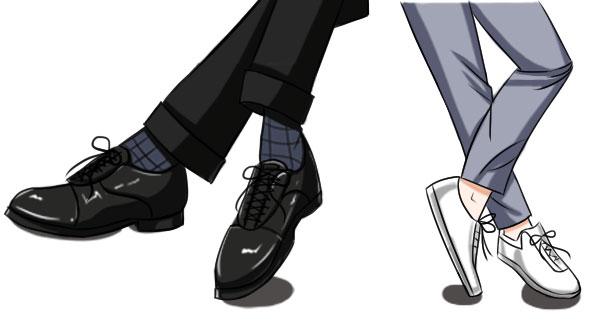 革靴以外はNG