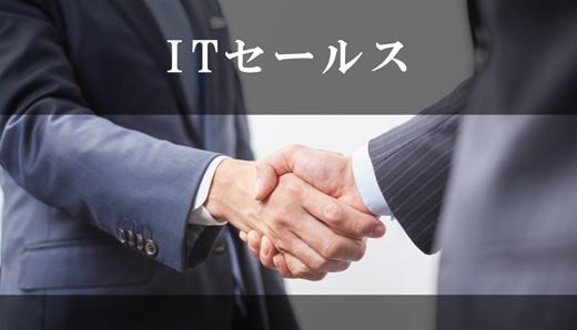 ITセールスの仕事とは?IT製品・サービスを扱う営業職