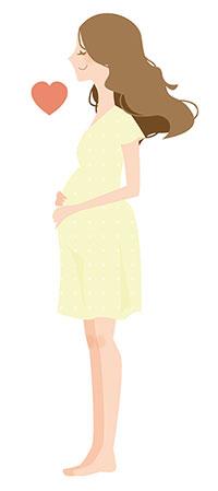 母体の健康を優先させて、派遣社員自身の判断で報告する